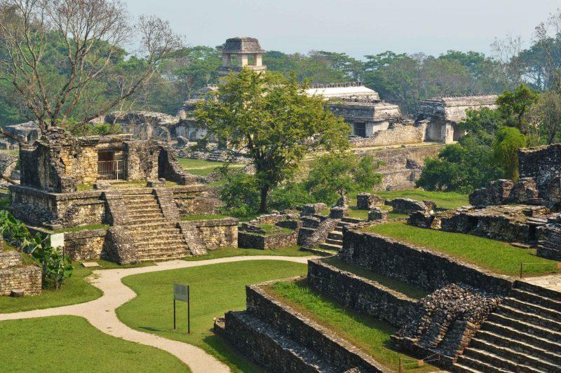 Mayan ruins of Palenque