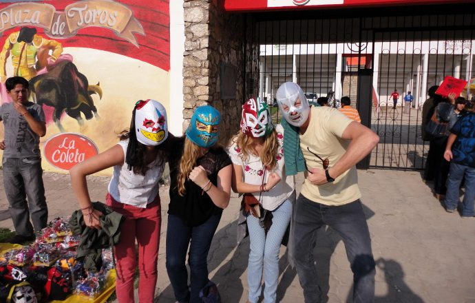 Lucha Libre masks in Mexico