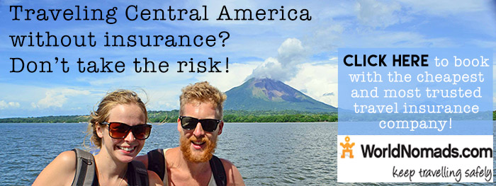 World Nomads travel insurance Central America