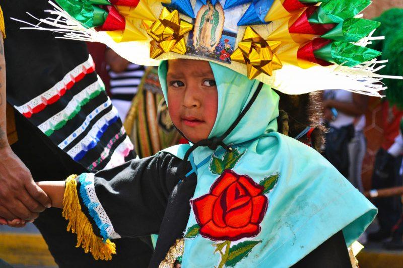 town fiesta of cholula mexico