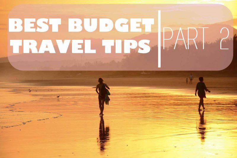 best budget travel tips