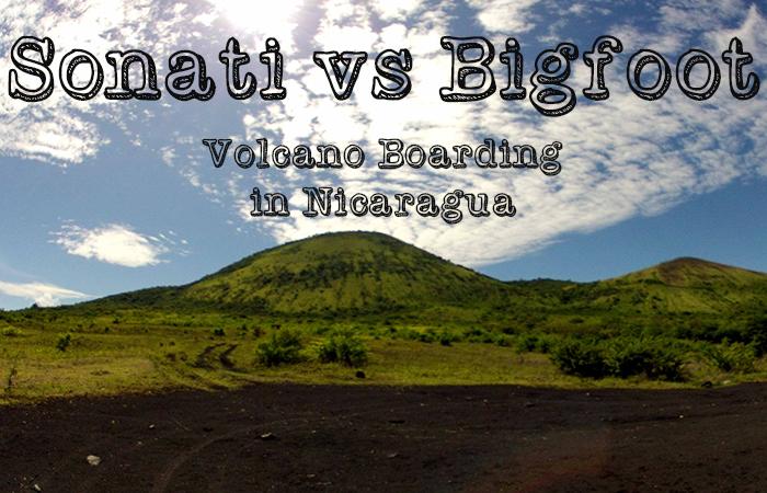 Volcano boarding with Sonati
