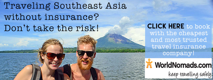 World Nomads Travel Insurance for Southeast Asia