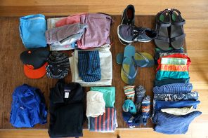 guys packing list for southeast asia