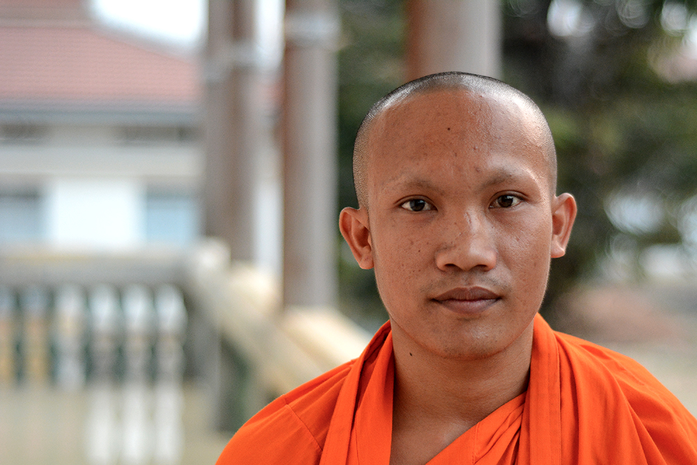 Cambodian monk | Time to Move