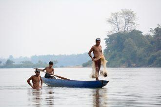 Mekong River Longtail Boat