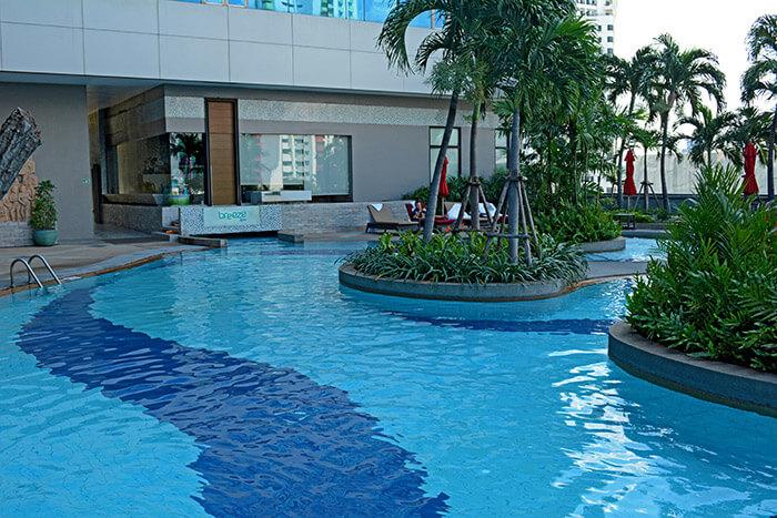 best hotel pool bangkok