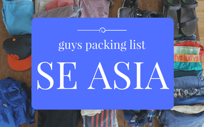 guys packing list philippines