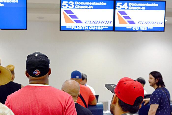 Europe to Cuba flights