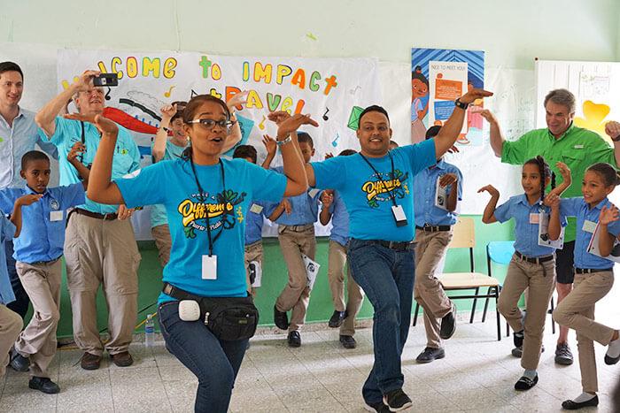 Fathom voluntourism in the Dominican Republic