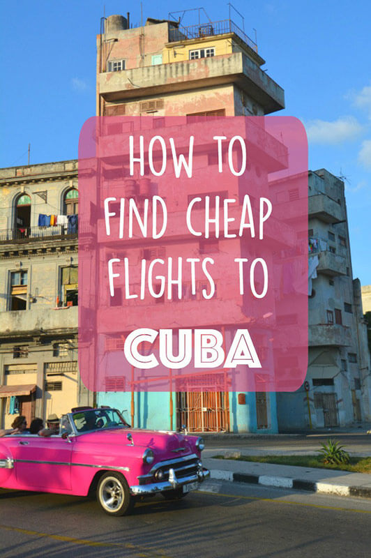 cuba travel flights