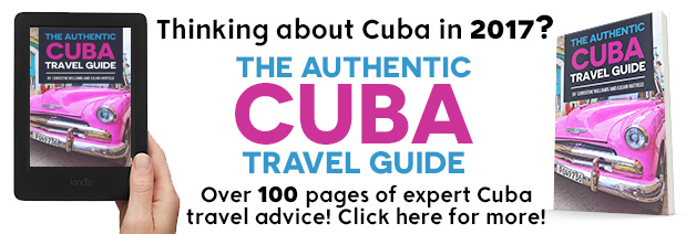 authentic cuba travel guide for sale