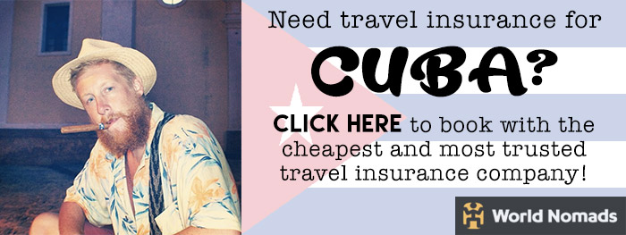 travel insurance for cuba