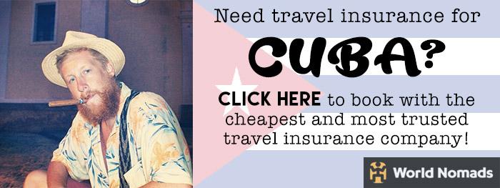 travel insurance for cuba