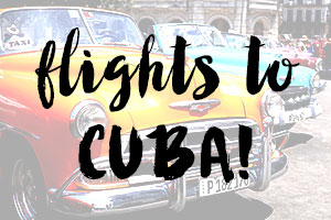 booking cheap flights to cuba