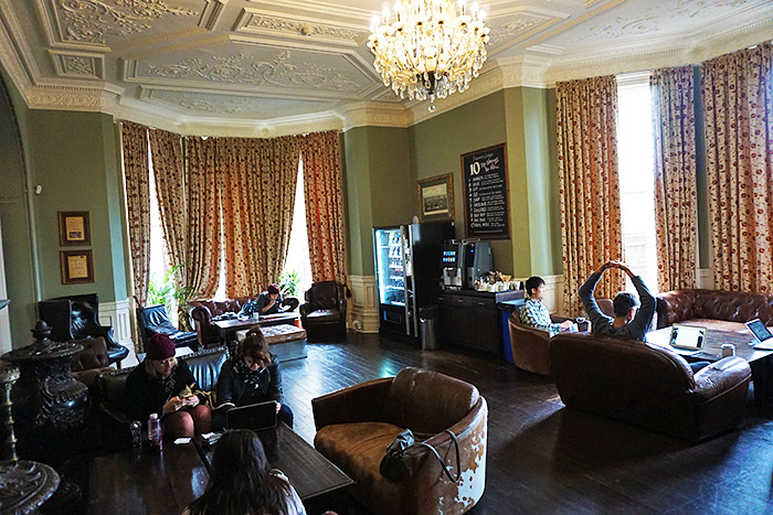 palmers lodge common room