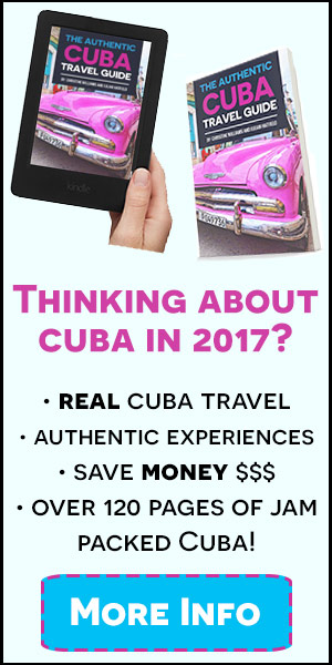 authentic cuba travel guide