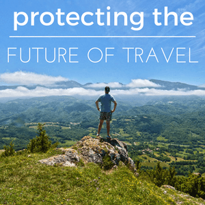 protecting the future of sustainable tourism