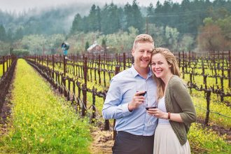 getting engaged in napa valley California